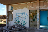 Slogans on Abandoned Barrack Walls 8