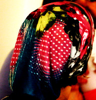 Colorful Head Scarf