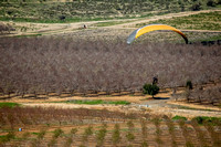 Powered Hang Glider Hovering Over Fields in the Haela Valley 8