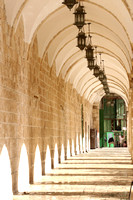 Cloisters Along Western Wall 1
