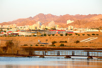 Southern Lake with Eilat in Background 4