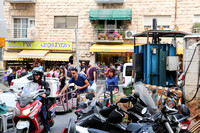 Two Wheels Go Better Than More in Machane Yehuda