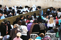 Separated Prayer at Western Wall 3