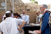 Emotional Prayer at Western Wall 1