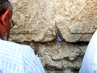 Notes in Western Wall 140416-1