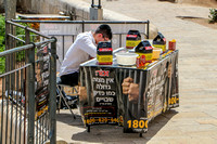 Donation Collector for Rescue of Captives - Western Wall