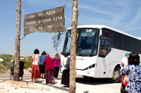 Tourist Bus at Har Bracha