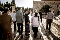 Local and Overseas Visitors Entering the Temple Mount 1