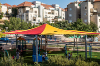 Protection Against Summer Heat - Top of Ayalon Park 1
