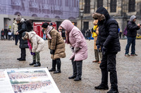 Falun Gong Demonstrators in Action Amsterdam 190131-5