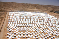 CSP Solar Field from Tower 100623-6