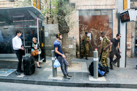 Sunday Morning - Jerusalem Bus Stop
