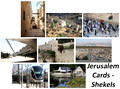 Jerusalem Greeting Cards - Shekels