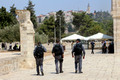 Three Border Police on Temple Mount 1
