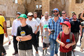 Jewish Visitors Paying Respects on Temple Mount 2