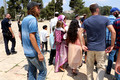 Jewish Children Visiting Temple Mount 2