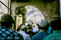 Entering Temple Mount Via Mugrahbi Gate