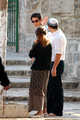 Bride Escorted on Temple Mount on Wedding Day 7001