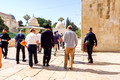 Returning South Along Western Wall 7