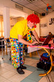 Clown Prepares for Show 4